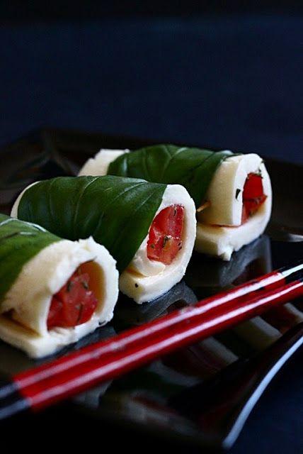 Sushi caprese