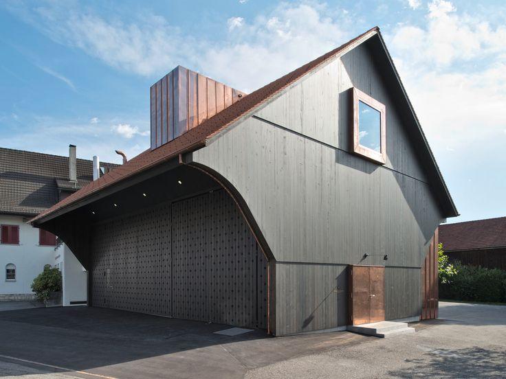 best architects architektur award // Liechti Graf Zumsteg Architekten / Neue Sternen Trotte, Würenlingen / best architects 14 / Gewerbe- & Industriebauten