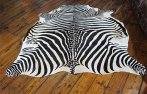 Cow hide Zebra print   Available on http://www.waringsathome.co.uk/for-the-home/rugs.html?limit=all