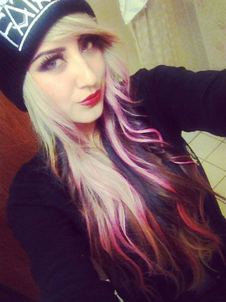Tri Color Hair  Hair Makeup And Nails  Pinterest