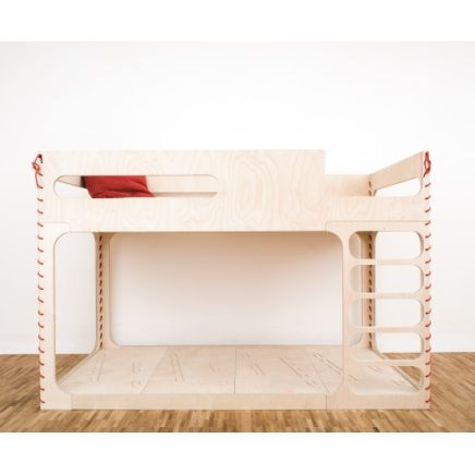 Love the sewn detail of Flora in the Sky Children Bed #kidsbedroom furniture www.e-side.co.uk