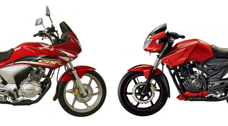 TVS Apache RTR 150 ve Honda CBF 150 Motosiklet Karşılaştırması