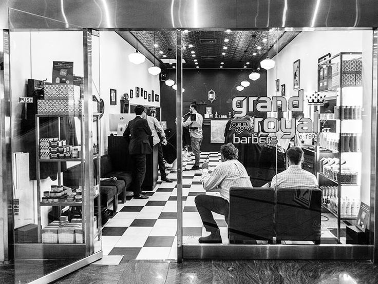 •BARBER SHOP GAME• There are some awesome barbershops in Sydney & @grandroyalbarbers runs 3 of them.  Based on a long family history of barbering, the guys at Grand Royal don't mess around. If you want the royal treatment, they are worth a look. Plus they stock Milkman Grooming Co.
