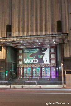 Wicked Tickets - Apollo Victoria Theatre   BoxOffice.co.uk