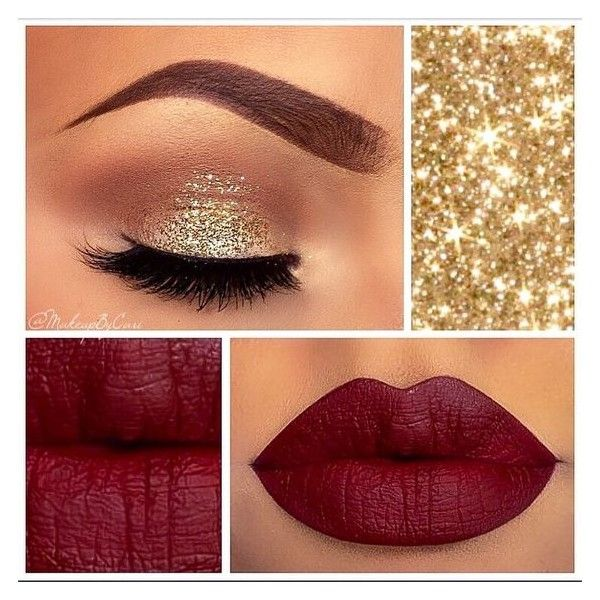 ❥∁∧яι❣? @makeupbycari Closed Eye View✨?...Instagram photo | Websta ❤ liked on Polyvore featuring red day dress, red prom dresses, red dress and prom dresses