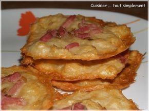 Tuiles Comté, Lardons ... Du Croustillant comme on aime - Cuisiner... tout Simplement, Le Blog de cuisine de Nathalie