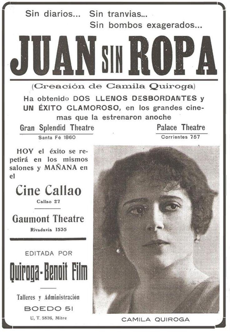 1919 - JUAN SIN ROPA - George Benoît & Héctor Quiroga