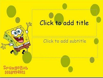 14 best anime powerpoint templates images on pinterest template simple and special animecartoon template spongebob squarepants background 2 different spongebob squarepants toneelgroepblik