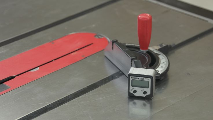 how to use wixey digital angle gauge