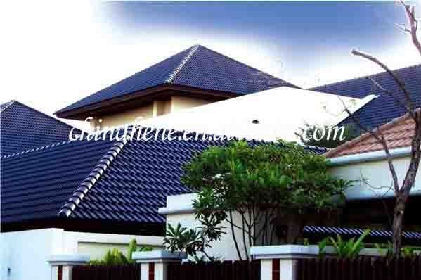 Dark Blue Ceramic Roof Tile In 2019 Ceramic Roof Tiles