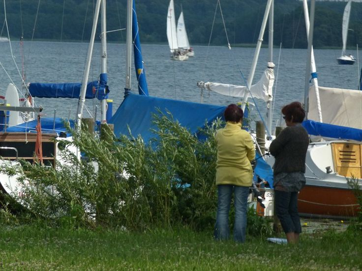 Aquarellkurs am Schweriner See | Malschüler im Gespräch (c) Bilder aus dem Aquarellkurs von Frank Koebsch