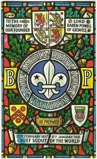 Baden-Powell Gilwell Park Window Badge                                                                                                                                                                                 More