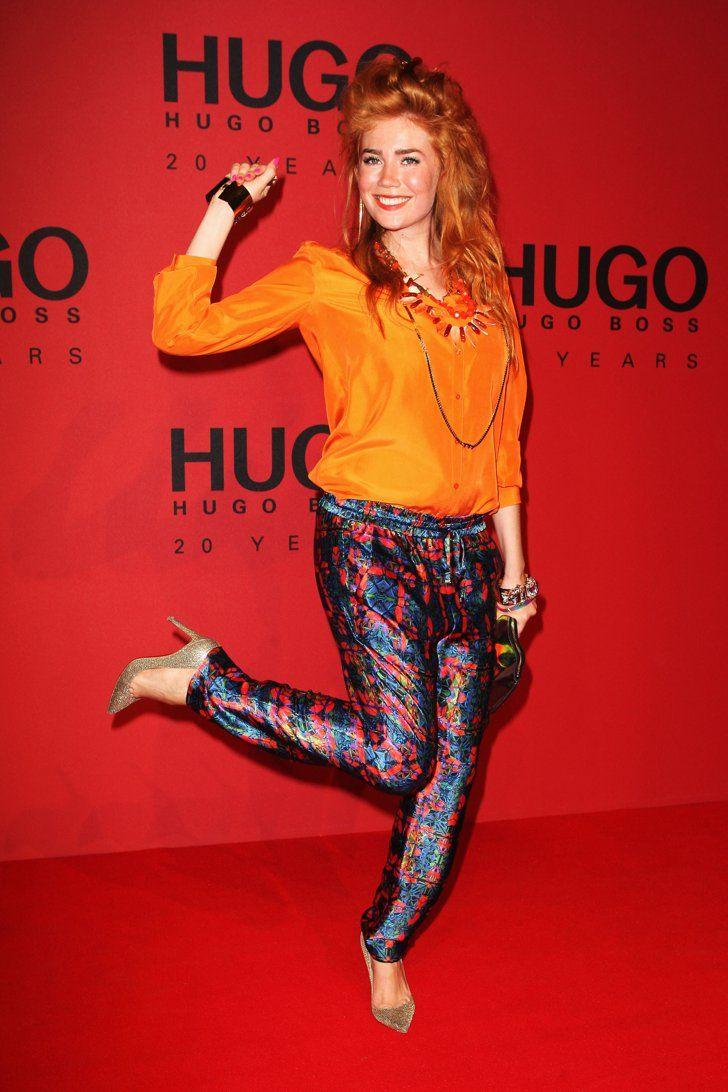 Pin for Later: 48 Fotos, die beweisen was für ein Style-Chameleon Palina Rojinski ist Januar 2013 bei der Fashion Week in Berlin