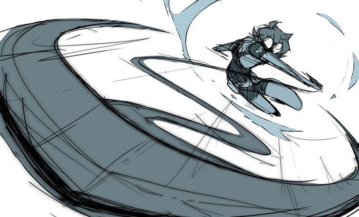 Trying to channel nargyle as I draw another Pidge.