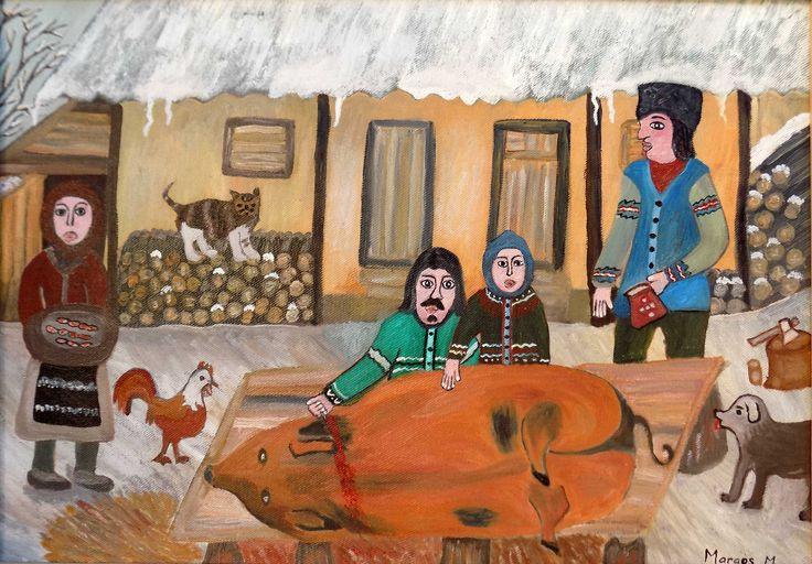 Pictura naiva | Ignatul | Boutiq Art