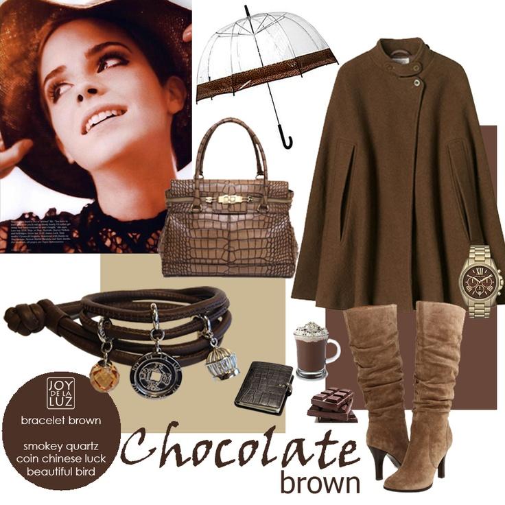 Joy de la Luz | Joy in Chocolate brown