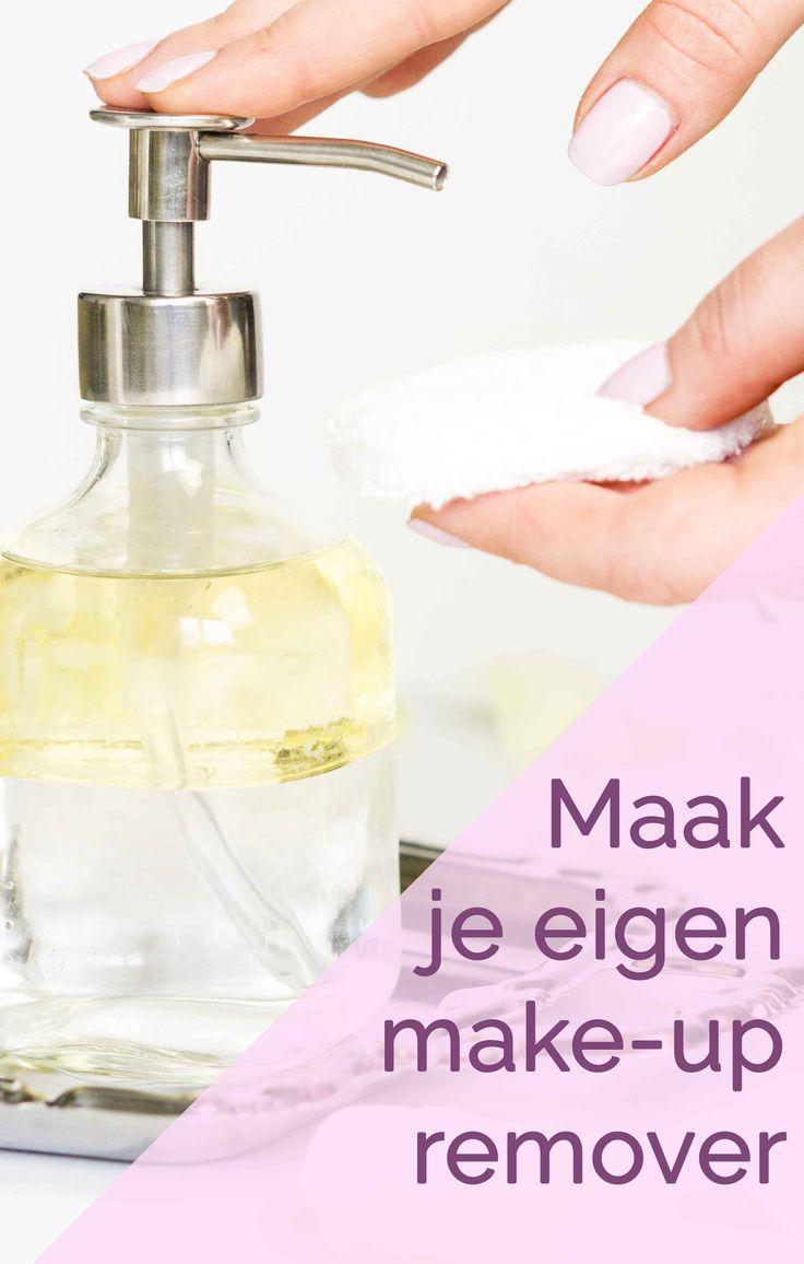 Puur natuur make-up remover! Waterproof mascara en liquid lipstick verdwijnen binnen no time en dat zonder uitdrogende alcohol of zeep!