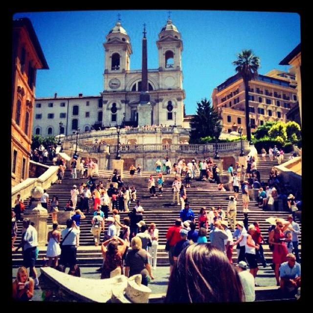 Spanish Steps in Rome: Spanish Step