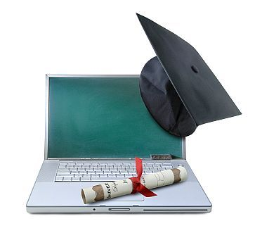 Earning a college degree online
