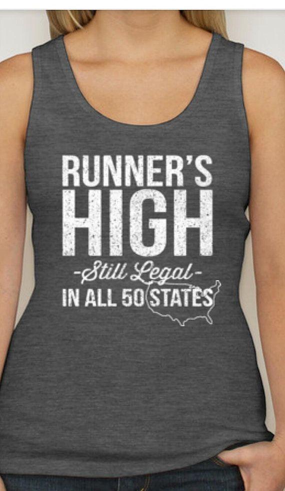 Women's RUNNERS High racer back running shirt by UnlimitedStride
