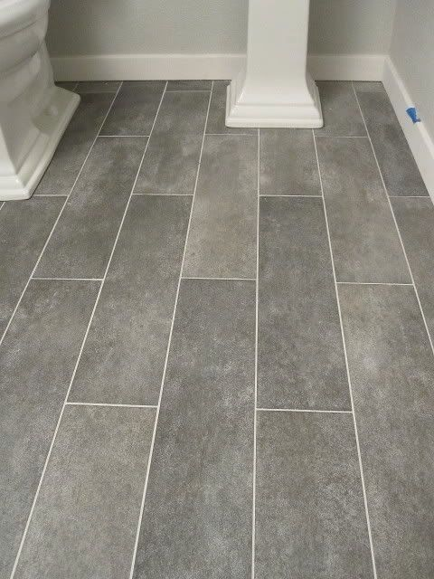 Perfect bathroom flooring