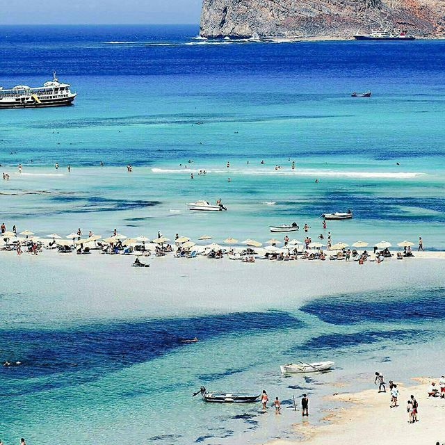 Balos beach, Crete, Greece...