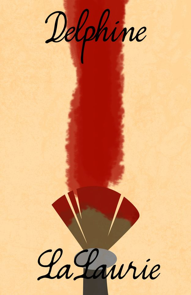 Delphine LaLaurie - Actually Minimalist Posters For AHS: Coven