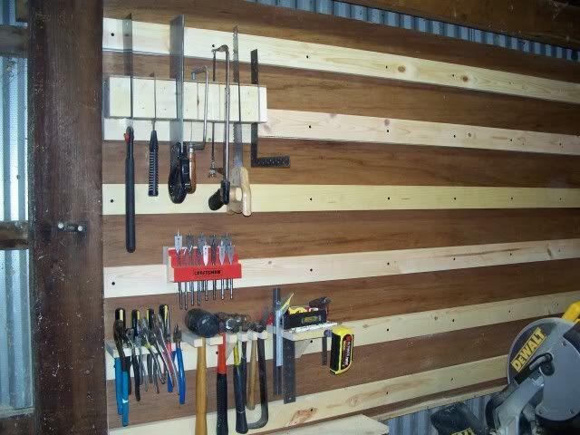 Wood Shop Organization | Shop Organization #3: Hanging saw holder - by SteveKorz @ LumberJocks ...