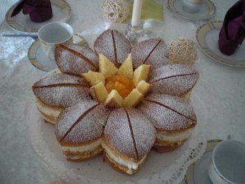 Das perfekte Kuchen_Seerosen-Torte von LUMARA-Rezept mit einfacher Schritt-für-Schritt-Anleitung: TIPP: Wie bei Biskuit üblich, am Besten schon einen Tag…