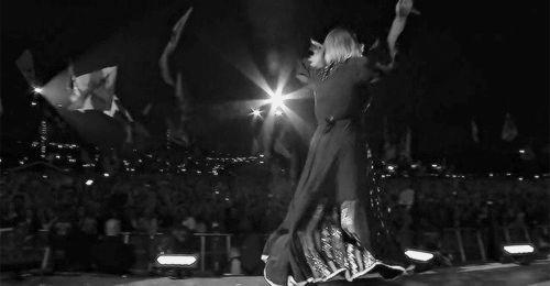 Adele at Glastonbury 2016 #gif