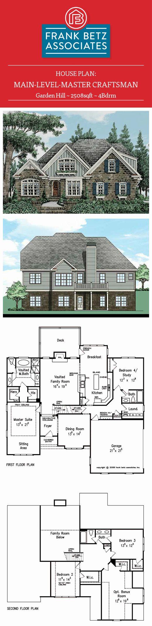 86 best CRAFTSMAN STYLE HOUSE PLANS images on Pinterest | Craftsman ...