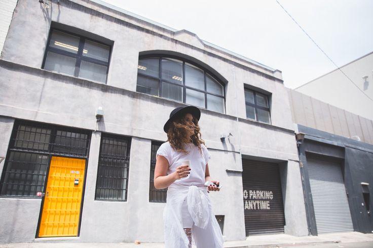 Ruby May | coffee break on MV shoot