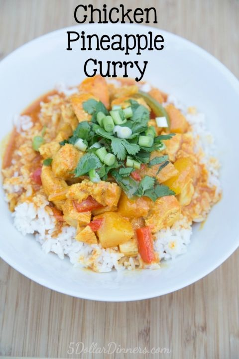 Chicken Pineapple Curry Recipe