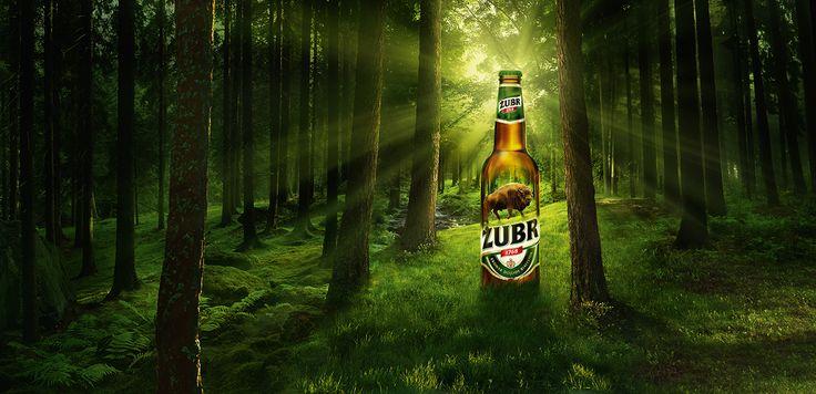 Campaign for Zubr - Kompania Piwowarska beer brand.