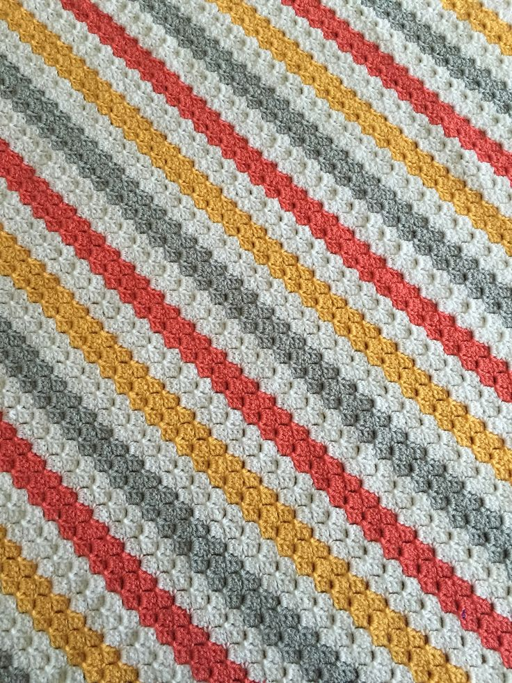 25 Best Crochet Corner To Corner C2c Afghans Blankets
