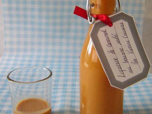 Liqueur de caramel au beurre salé