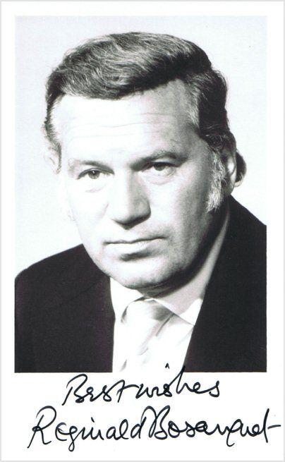Newsreader Reginald Bosanquet (1932-1984) ~  'News at Ten' for ITN 1967-1979