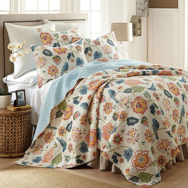 Fashionable Pinsonic n Solid Color Microfiber Quilt Set Swirl Design