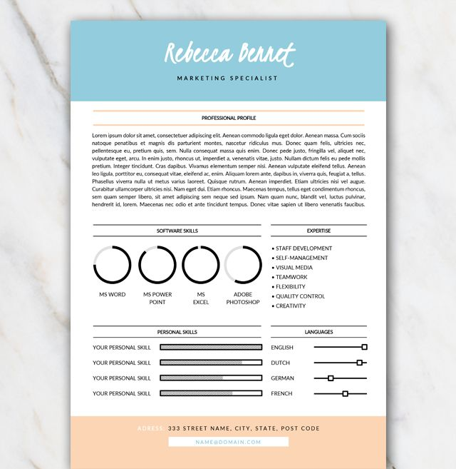 best 25  resume fonts ideas on pinterest