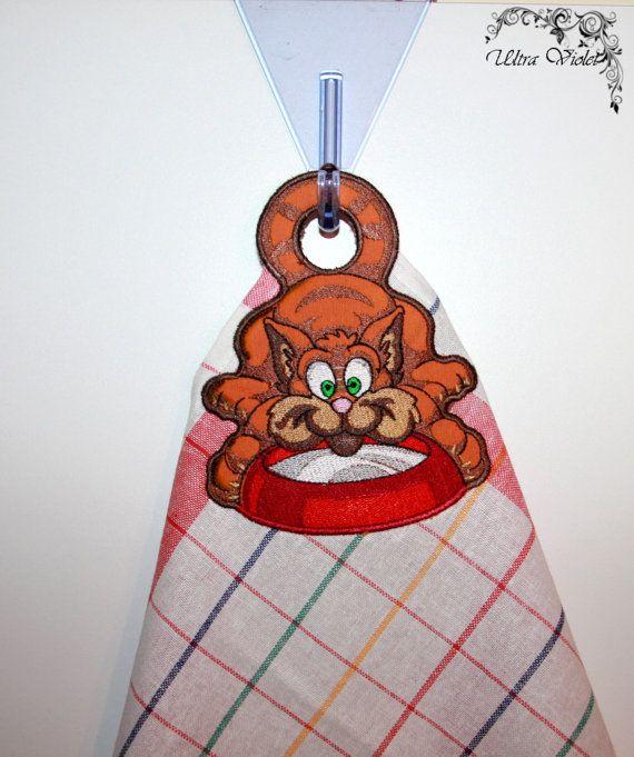 Handtücher mit Stickerei Bestickte Handtücher von UltroViolet