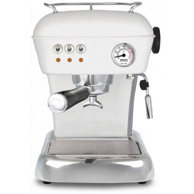 Ascaso Dream espressomaskin - Hvit