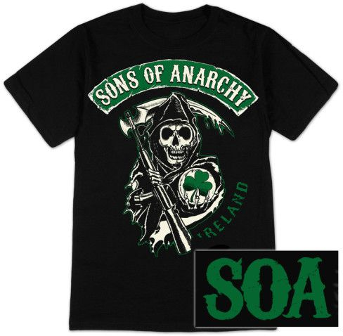 Sons of Anarchy - SOA Ireland T-Shirt at AllPosters.com