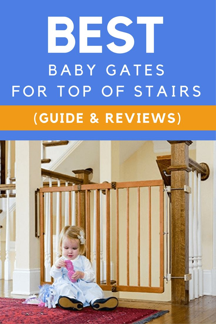 Looking for the best baby gates for stairs? This comprehensive buying guide will help you choose the right baby gates for top and bottom of your stairs.