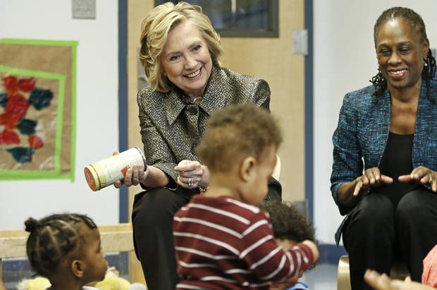 Hillary Clinton often boasts about helping children, but she betrayed them as First Lady During the debate, Clinton touted her years at the Children's Defense Fund. Here's the truth she didn't talk about