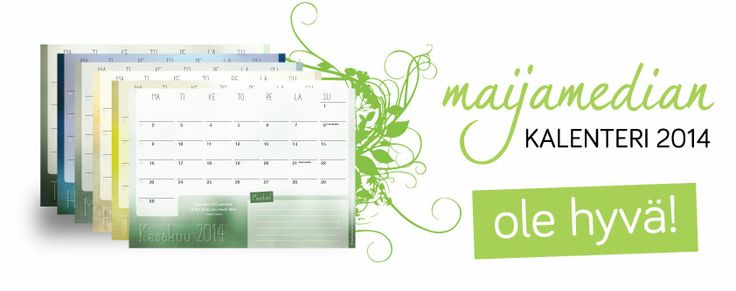 Maijamedia's Entreprenial Finnish Calendar for 2014. Download your own copy here.
