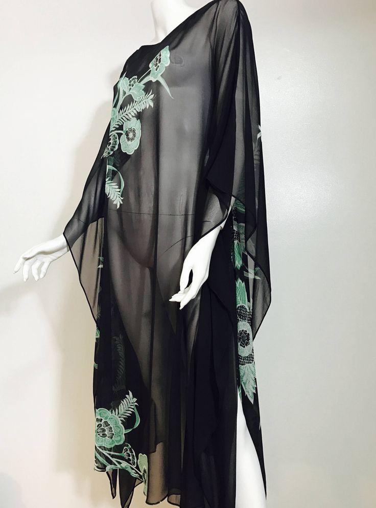 Kaftan, silk kaftan, cover up, silk dress, boho dress, beach, mother if the bride , resort, cruise, caftan, silk caftan, bohemian, plus size by MoonInScorpioKaftans on Etsy