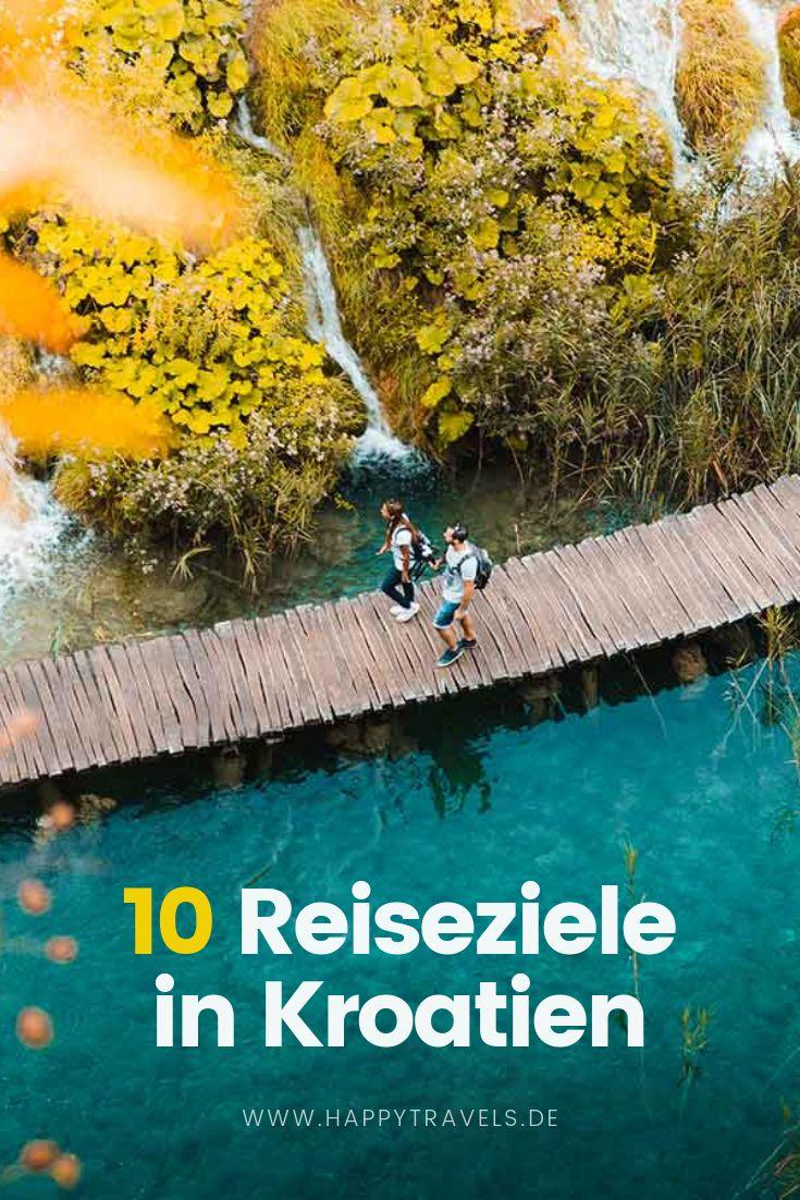 10 Kroatien Reiseziele und Urlaubsorte für Deine nächste Reise nach Kroatien