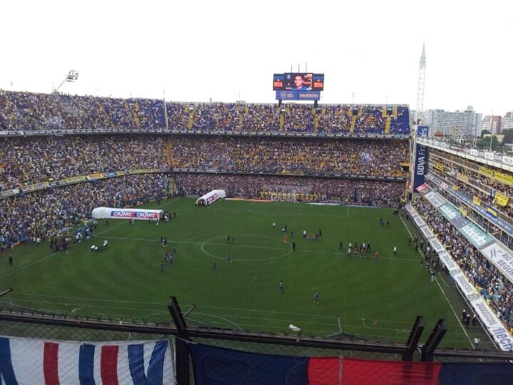 En el mejor estadio argentino