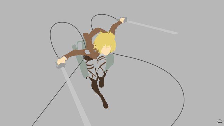 Armin Arlert (Shingeki no Kyojin) Minimalism by greenmapple17 on DeviantArt