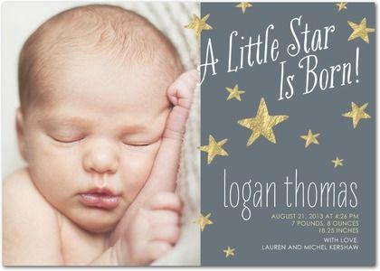 27 best Birth Announcements images – Unique Birth Announcement Cards